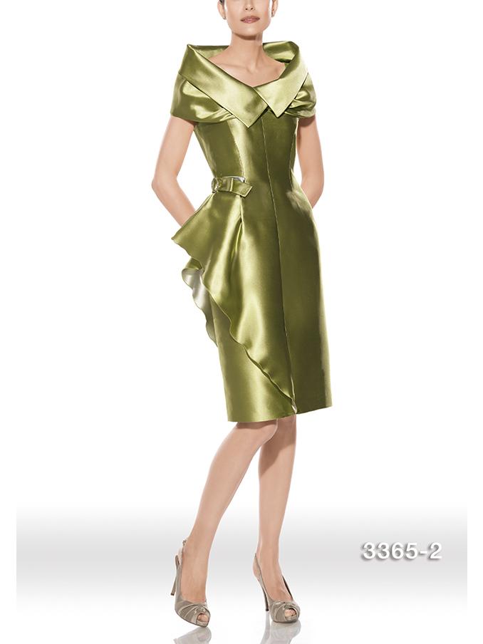 modelo 3365 Teresa Ripoll, comprar Teresa Ripoll Barcelona, vestidos de fiesta Barcelona, vestidos de fiesta en verde