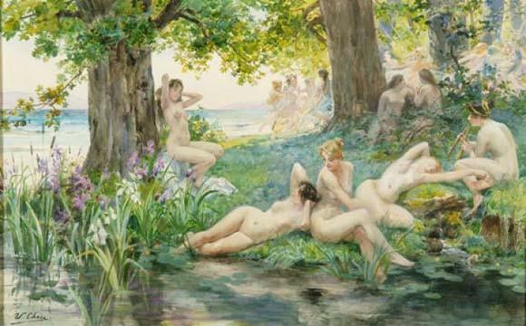 La mitología griega en los vestidos de novia de Ruben Perlotti