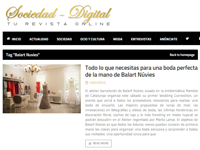 sociedad digital wedding connection
