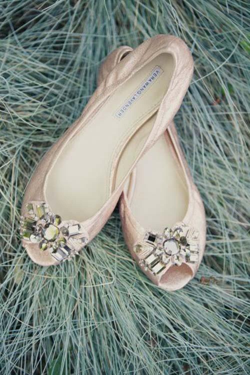 manoletinas vera wang, zapatos para novia Vera Wang, zapatos para novia originales, zapatos planos para novia