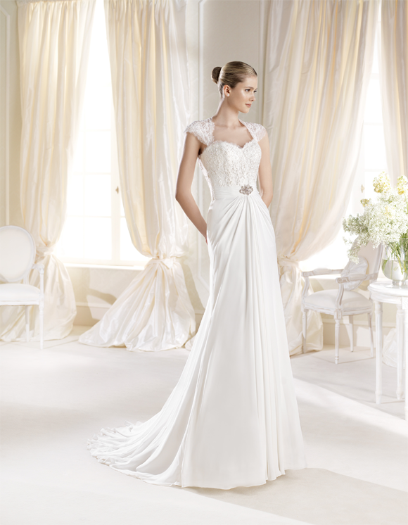 Ibbes la Sposa, vestidos de novia estilo griego, vestidos de novia La Sposa, comprar vestido La Sposa Barcelona
