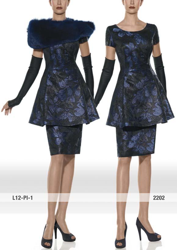 modelo 2202 Teresa Ripoll, vestidos de madrina Teresa Ripoll, vestidos de madrina invierno, estolas de piel, Balart Núvies Wedding center