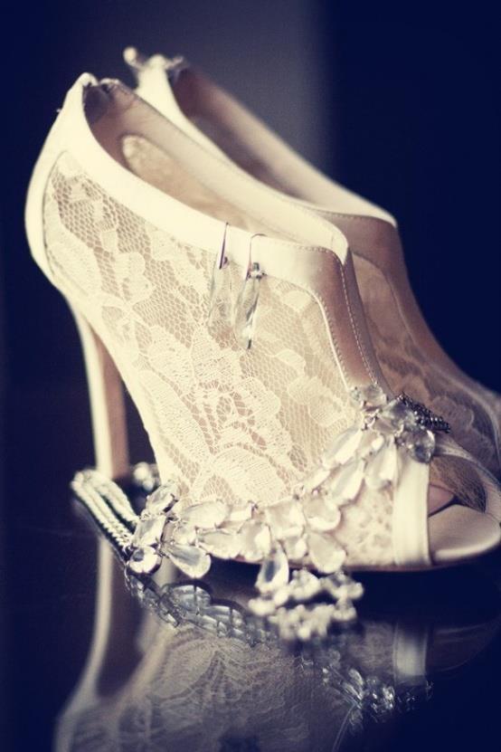 zapatos para novia vintage