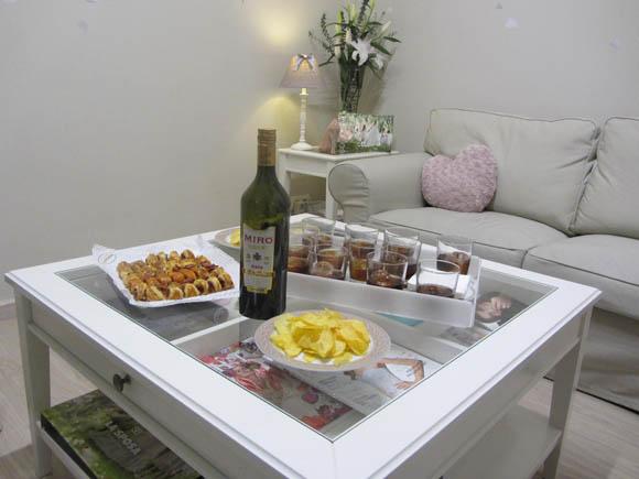 aperitivo en balart Núvies
