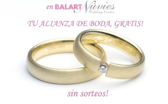 Balart Núvies te regala tu alianza de boda!