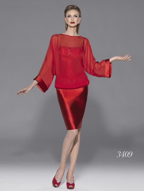 Modelo 3409 | colección primavera-verano 2015 de Teresa Ripoll