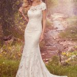 vestido novia largo barcelona