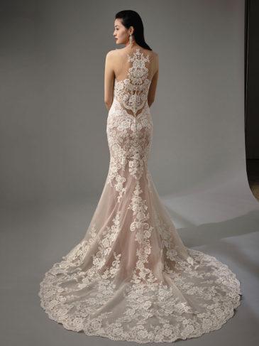 vestido novia espalda enzoani